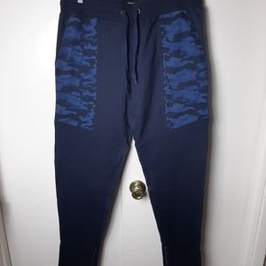 Motto joggers with camo pocket accents XL